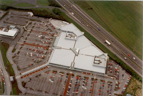 aerial view of marks and spencers gemini retail park store. Black Bedroom Furniture Sets. Home Design Ideas
