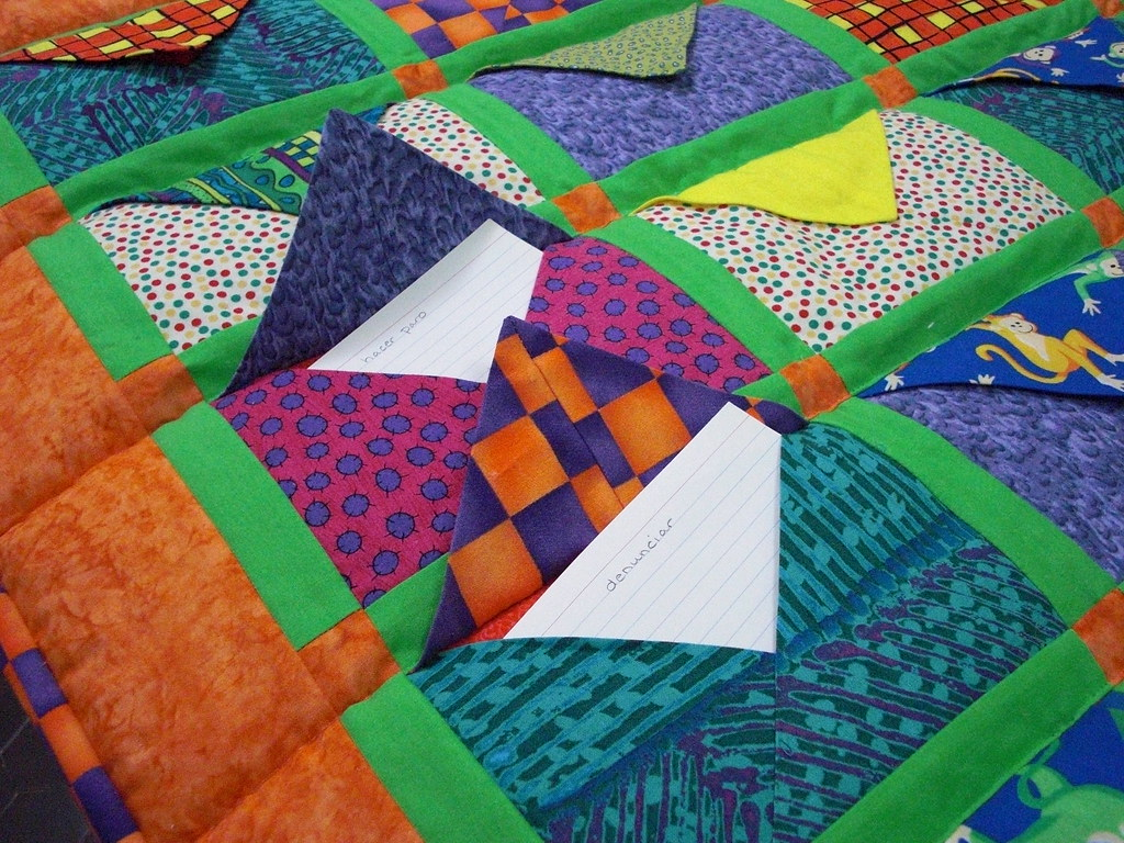 Close-up of envelope quilt with flaps open | Just to show ho… | Flickr : envelope quilt pattern - Adamdwight.com