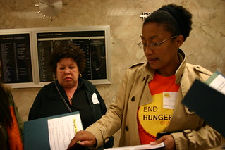 Keisha and advocates | by Alameda County Community Food Bank
