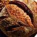 Sweet potato sourdough with pumpkin seeds