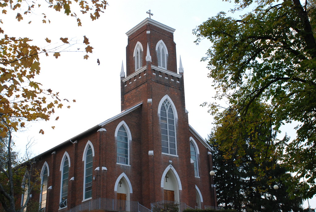 The First Catholic Church In Ohio This Is St Joseph S