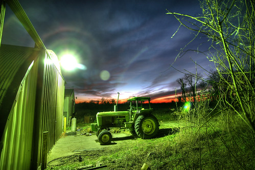 Green Tractor 11.26.2007 | by Notley Hawkins