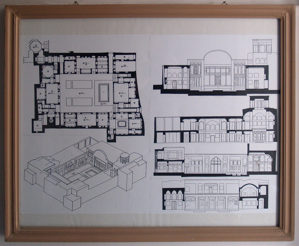 painter's house, isfahan, iran october 2007 | plan and ...