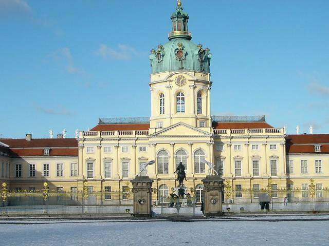 Enkelt parti Berlin Charlottenburg