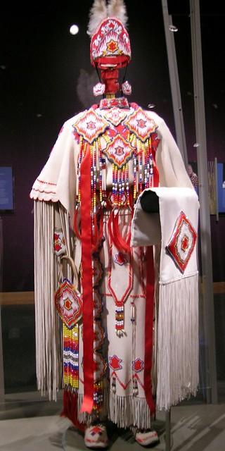 Kiowa Three Hide Dress Modern Kiowa Three Hide Dress And