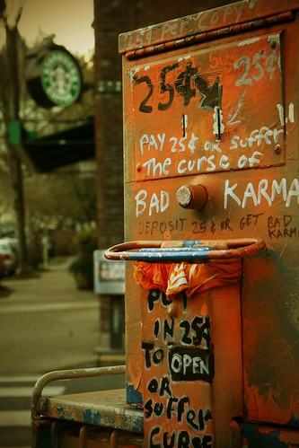 Bad Karma Machine | by enigmatic_joy