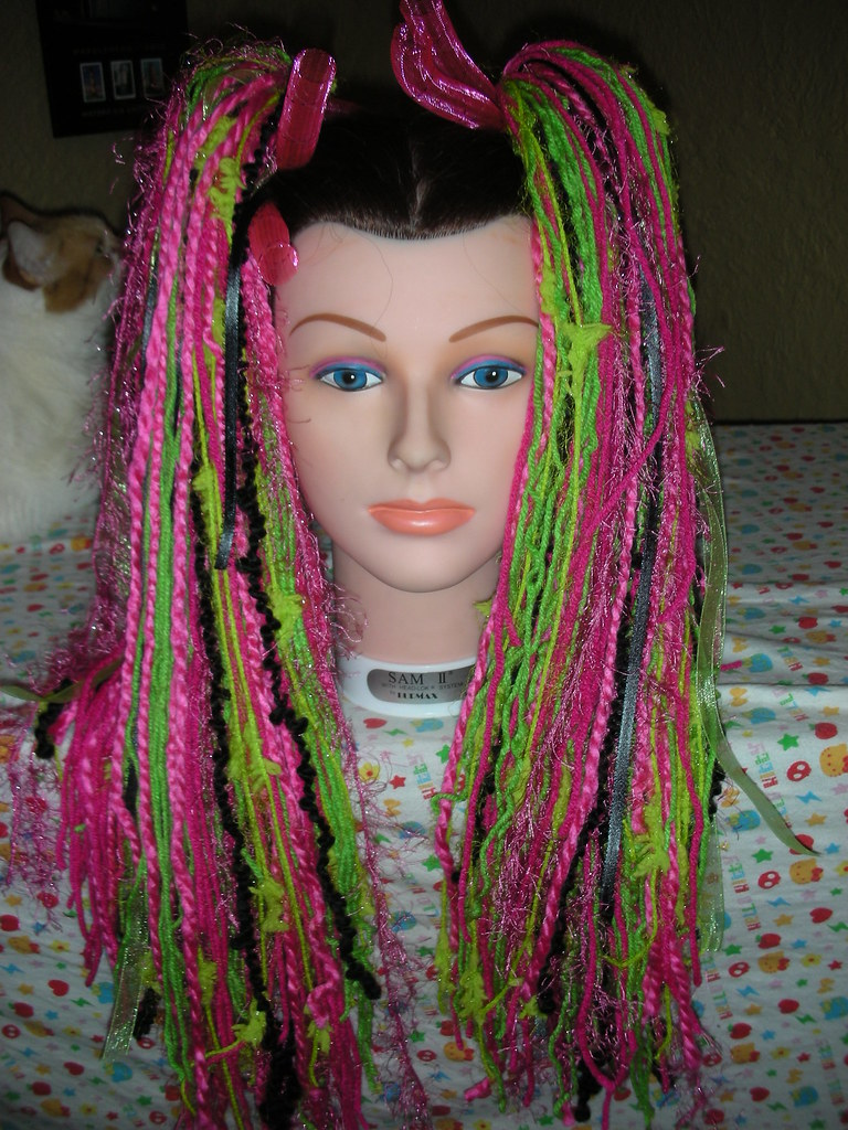 watermelon yarn hair falls