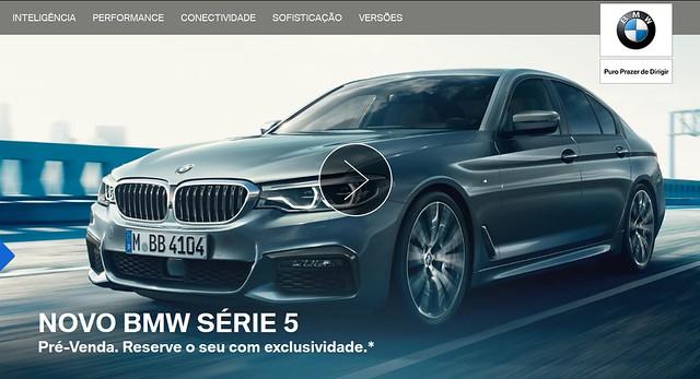 BMW Série 5 2017 - Site BMW 2