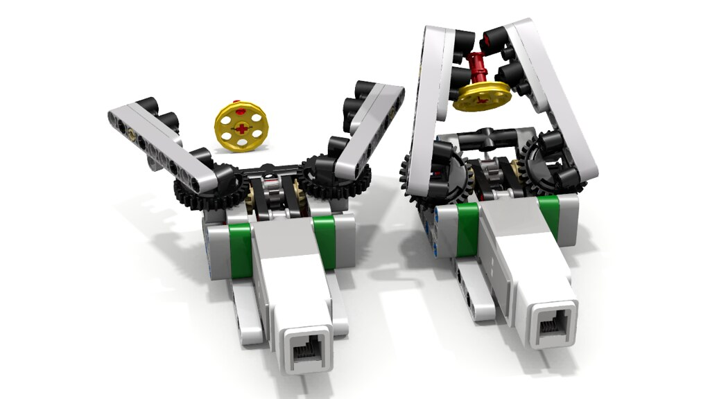 Lego ev3 grab and lift by ogaworks this compact lego for Ev3 medium motor arm