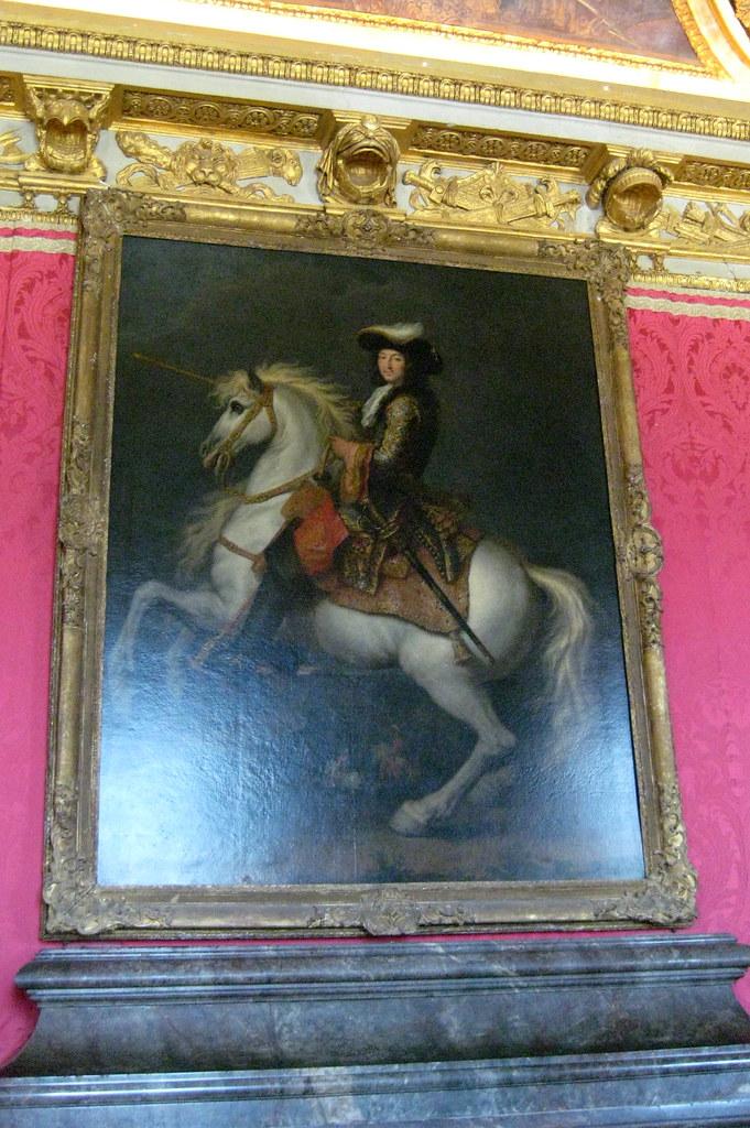 Versailles ch teau de versailles salon de mars king l for Salon de versailles