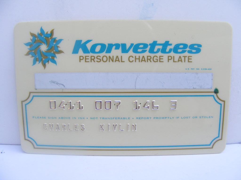 Korvettes Credit Card Old Korvettes Department Store