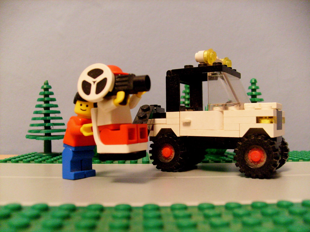 Lego 6659 Tv Camera Crew 1986 Mallardine Flickr