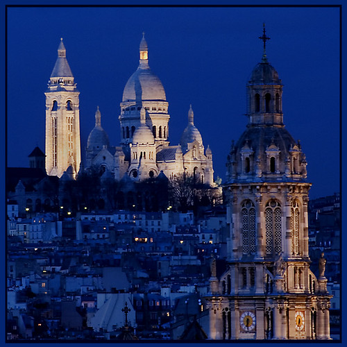Rita Crane Photography:  Paris / Sacre Coeur at Twilight, Montmartre | by Rita Crane Photography