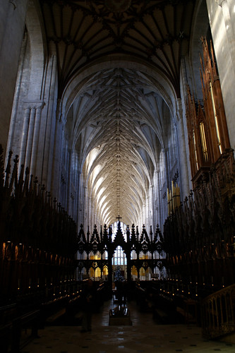 Quire of Winchester Cathedral | by Philocrites
