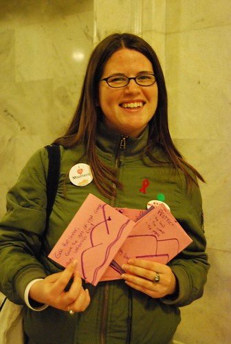 Beth Bissmeyer at I Love Mountains Day | by Kentuckians For The Commonwealth