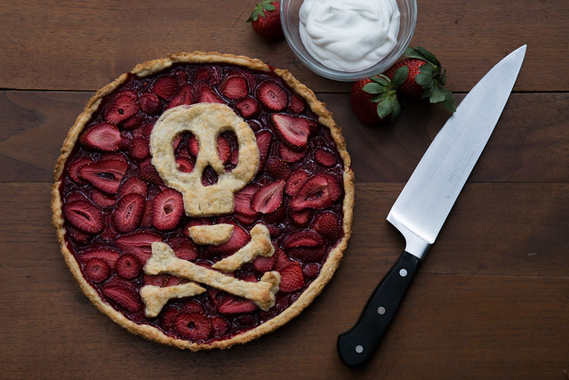 Killer Strawberry Tart