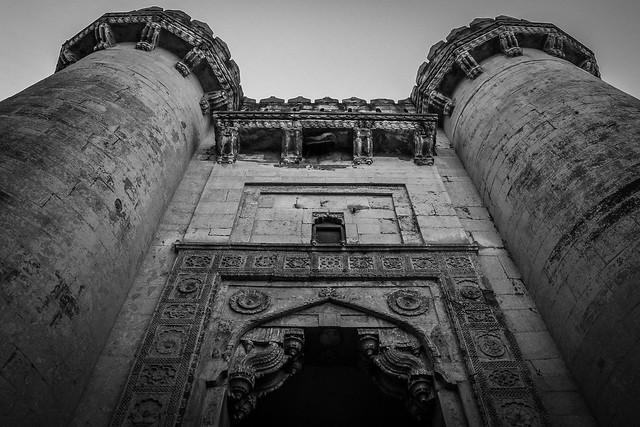 Jai Pol (Gate of Victory) in Mehrangarh Fort, Jodhpur, India ジョードプル メヘラーンガル・フォート、ジャイ・ポール(勝利の門)
