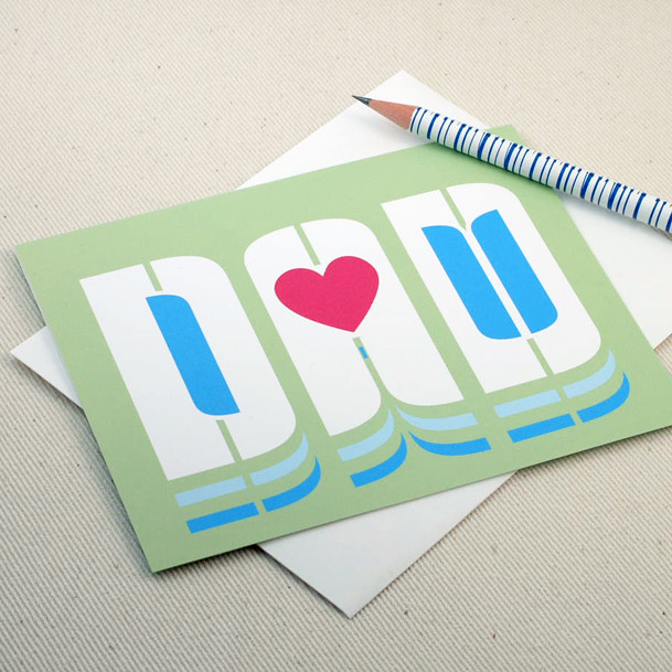 Oh geez design i love you dad greeting card greeting Oh design