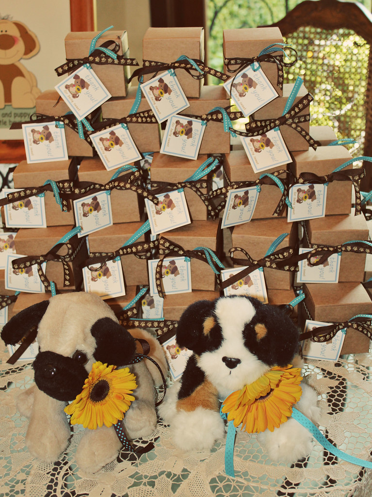 Baby Shower Theme Puppy Dogs And Sunflowers Caseyd1102 Flickr