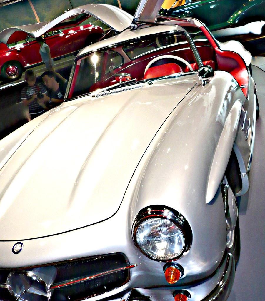 Open Road Mercedes >> Mercedes-Benz W 198, 300 SL Coupe, Gullwing, Flügeltürer ...