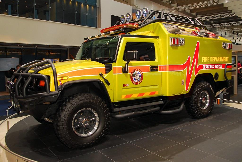 Ratchet Hummer Fire Truck 6043 Hummer H2