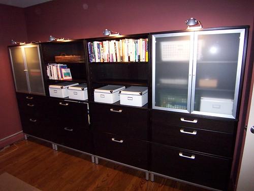 ikea effektiv new home office at happy creek jim flickr. Black Bedroom Furniture Sets. Home Design Ideas