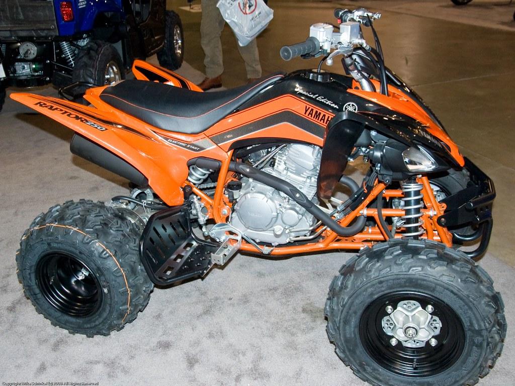 Yamaha Raptor  Special Edition Parts