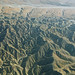 Badlands topography in the Indio Hills, Riverside County, California