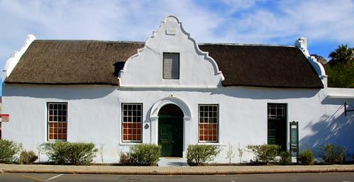 Cape Dutch Building Montagu Robert Wallace Flickr