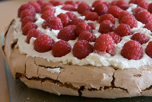 Chocolate Raspberry Pavlova | by tdijkman