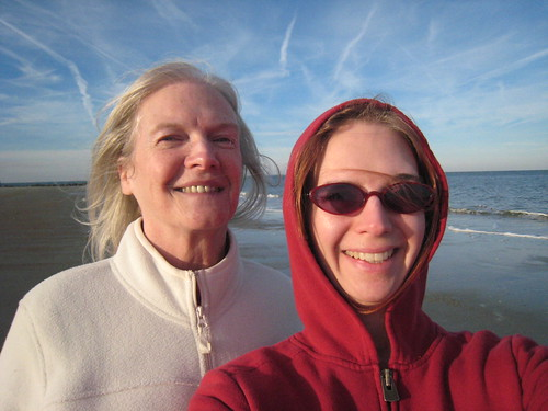 Me & Mom at Tybee Beach | by dawniepoo