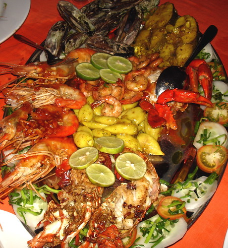 Seafood Platter At Domanis Restaurant Main Beach