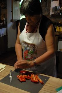 Bell Pepper Cutting Kitchen Aid