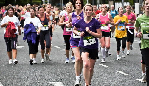 Caitriona Jennings (Rathfarnam AC) won the Flora Women's Mini-Marathon | by infomatique