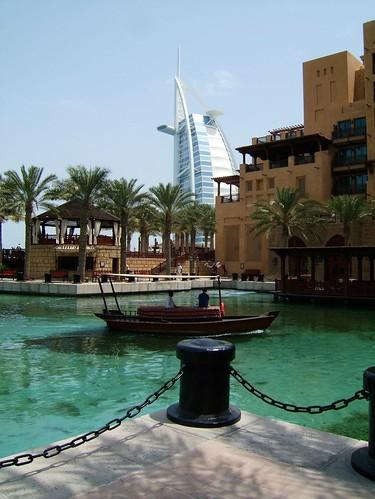 The mina a salam hotel dubai with the iconic burg al arab for The burg hotel dubai