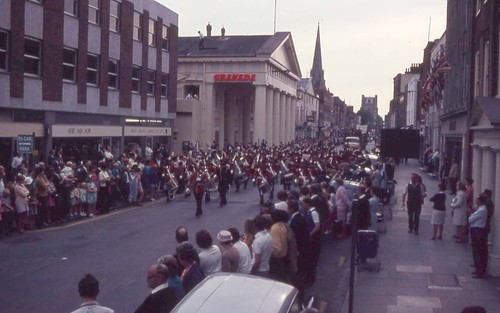 1969 Chichester Gala Procession in East Street | by chi trevor's other pics