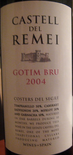 Castell del Remei 2004 Segre front | by 2 Guys Uncorked