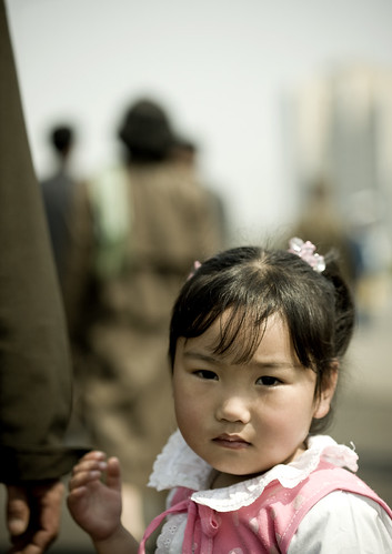 Young girl in Pyongyang | by Eric Lafforgue