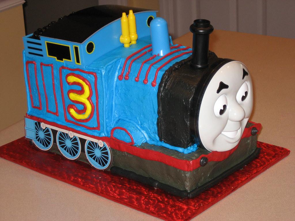 Cake Pan Thomas Train