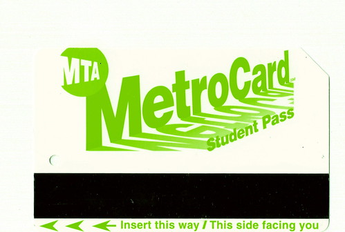 Nycta Metrocard Green Student Pass Offered To New York