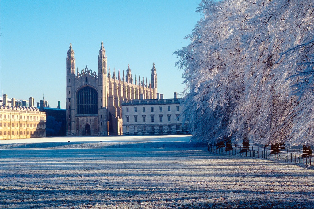 King's College, Cambridge | Taken just after Christmas 1995.… | Flickr