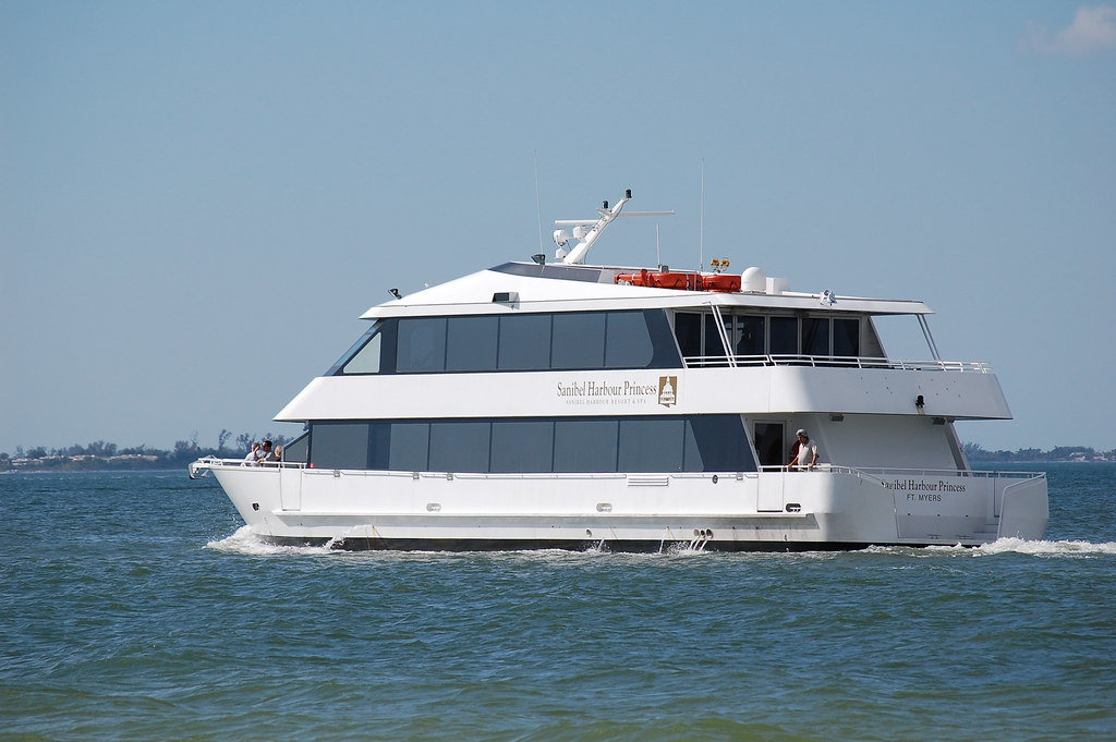 Sanibel Harbor Princess | Making it's way back over to ...