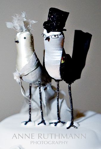 Handmade Wedding Cake Toppers Drunk