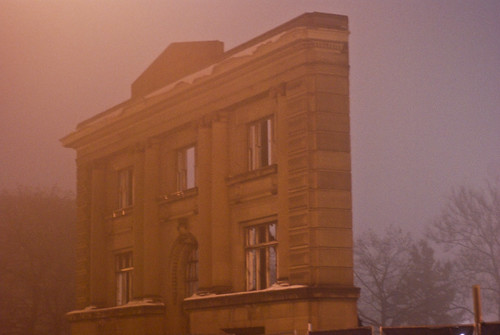 Ghost of a Carnegie Library | by phil dokas
