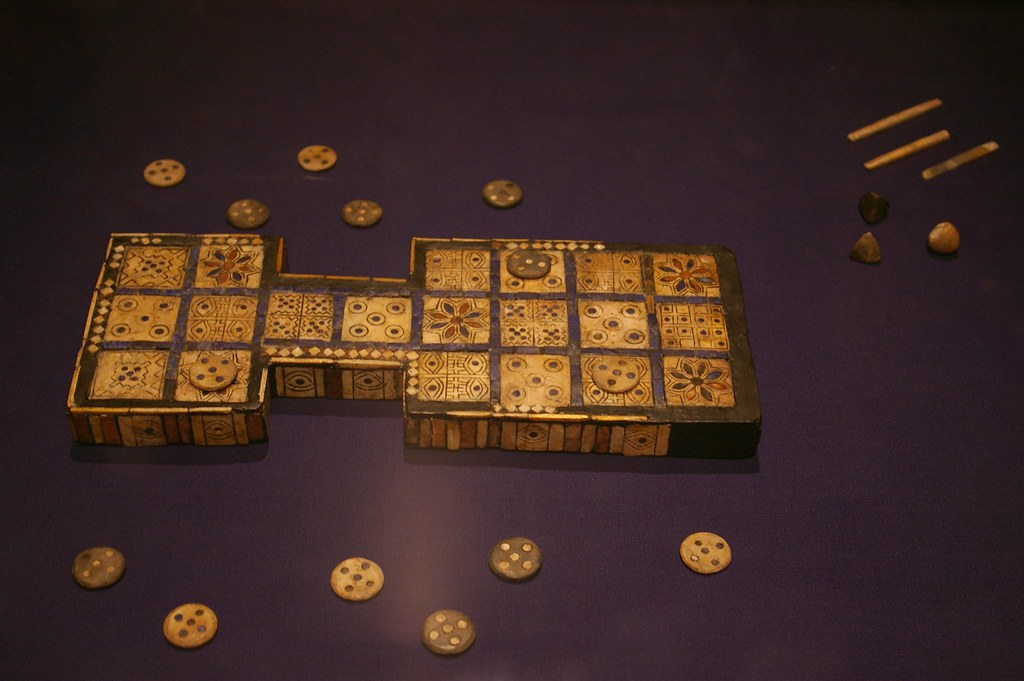 Royal game of Ur | In the British Museum in London | Julio