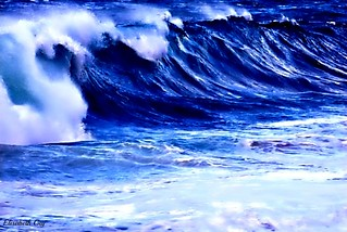 Blue wave. | by Elisabeth Gaj
