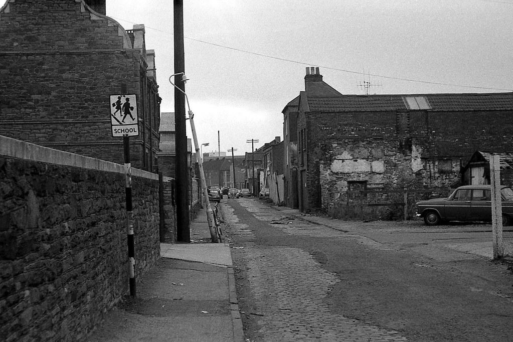 Bedminster Bristol 1975 A View Along Stillhouse Lane