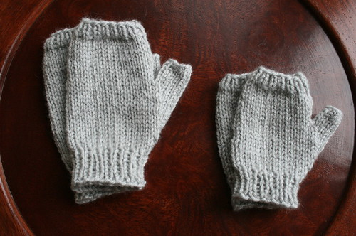 Jo's Baby Mitts | by the yarniad