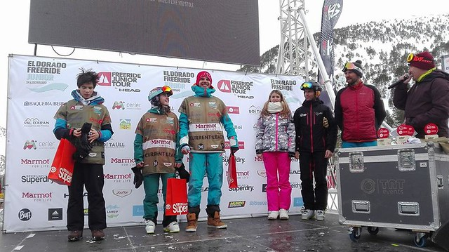 Podium Arcalís Ruth Frutos
