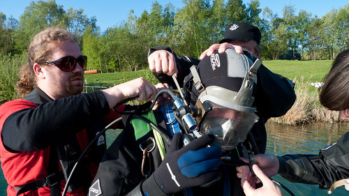 Dressing a diver 1 | by Maritime Archaeology @ University of Southern DK